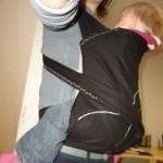 Med barnet på magen