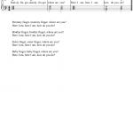 Finger song - enak