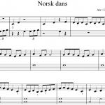 Norsk dans - kunmel